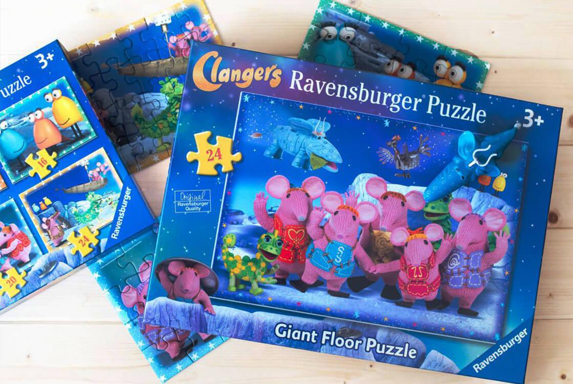 Ravensburger Clangers Puzzle