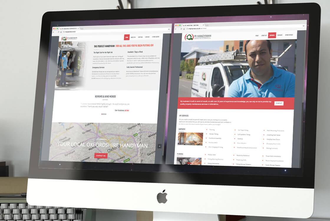 IR Handyman Website Design
